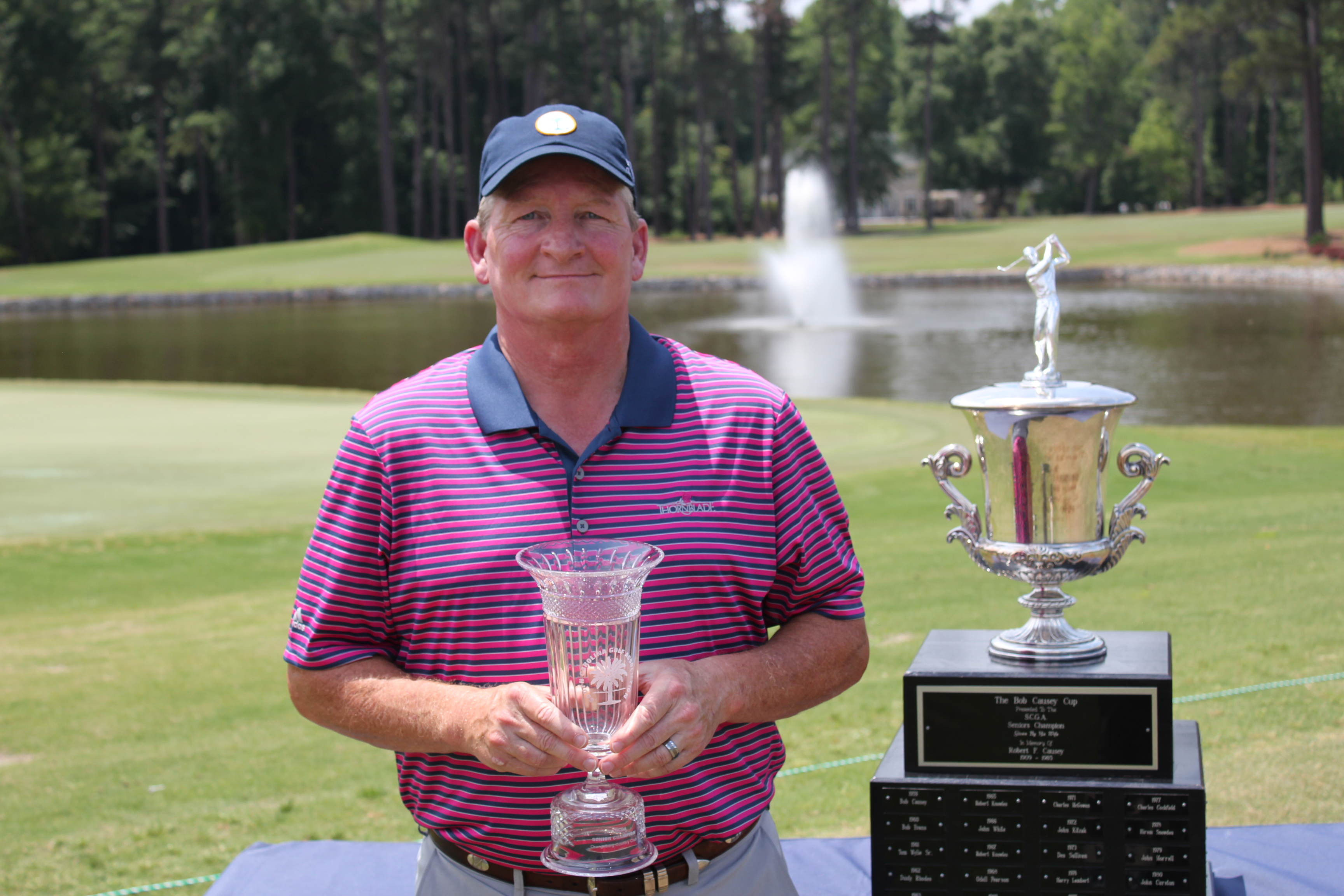 Pure perfection Charleston senior amateur golf tournament results she was